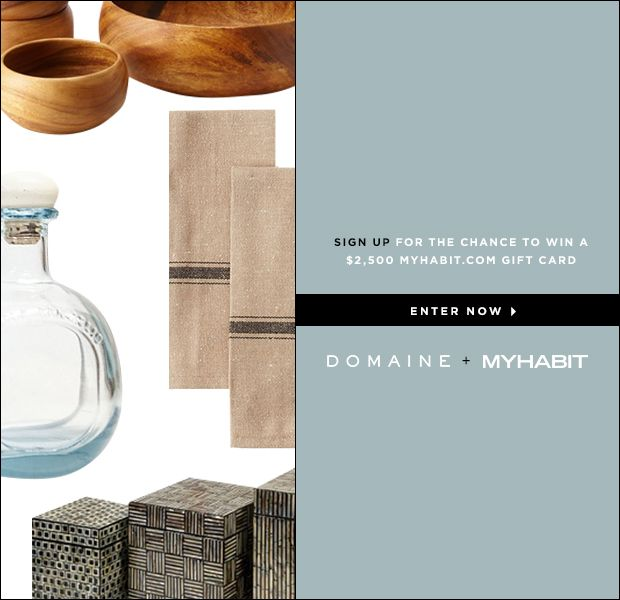 MyHabit x Domaine Sweepstakes