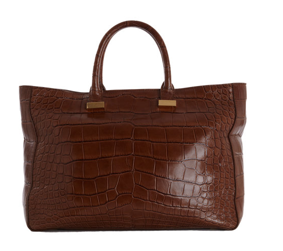 The Row Alligator Day Luxe Tote
