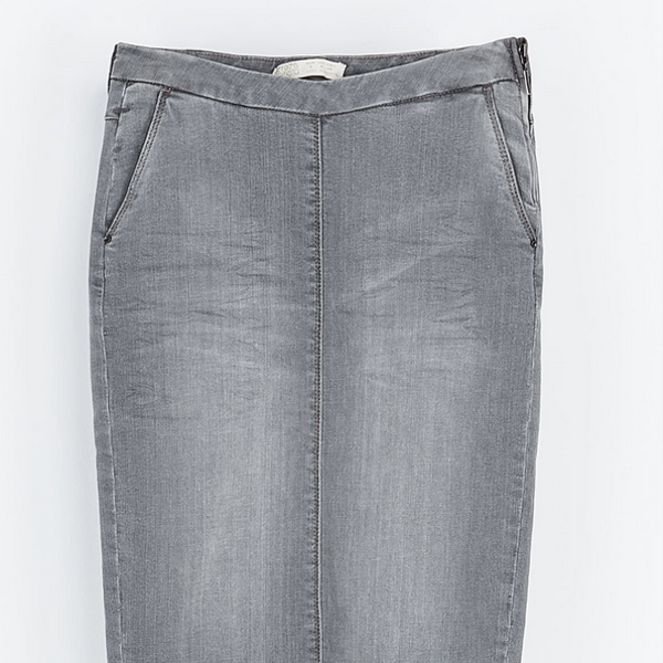 Zara  Denim Pencil Skirt