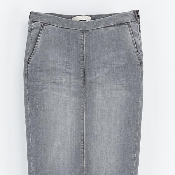 Zara  Denim Pencil Skirt