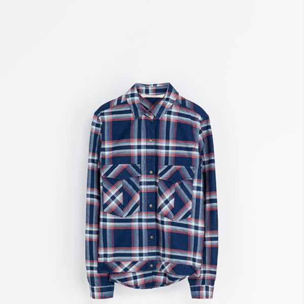 Zara  Checked Jacket