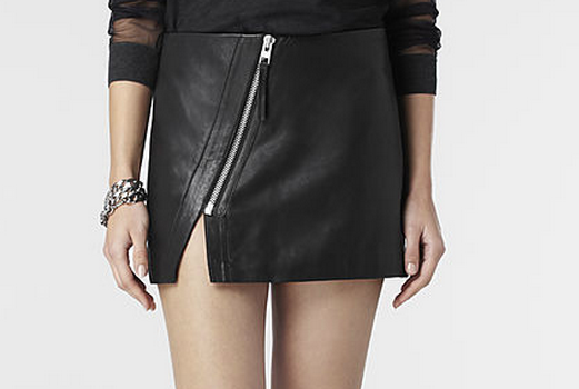 Allsaints Mini Split Lucille Skirt
