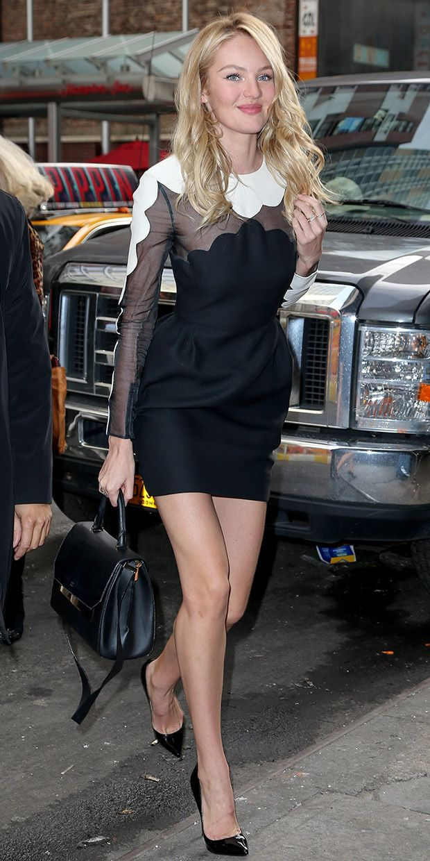 Candice Swanepoel Is Spotted Out In NYC.