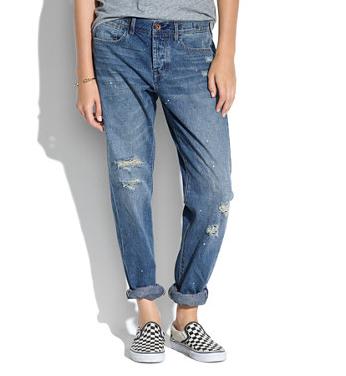 Madewell Rivet & Thread Worker Jeans