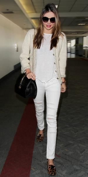 Miranda Kerr Arrives At LAX.