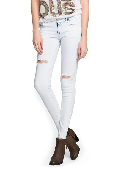 Mango  Super Slim-Fit Skin Jeans