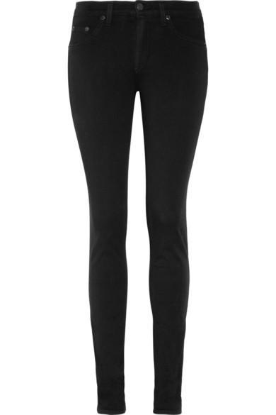 Rag & Bone  Mid-Rise Leggings-Style Jeans