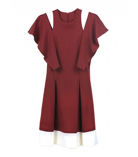 ICB ICB Silky Wool Viscose Dress