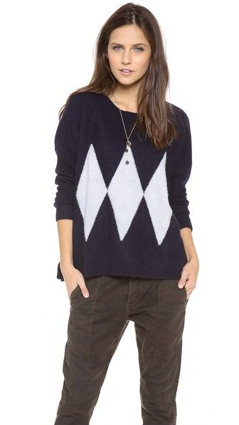 Acquaverde  Diamond Sweater