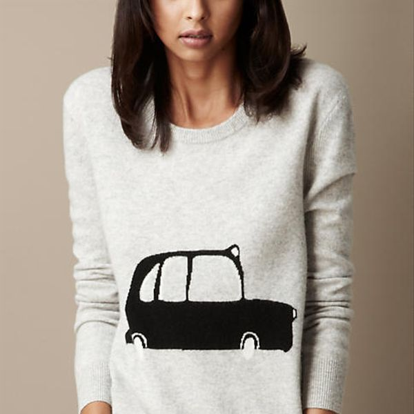 Burberry Taxi Wool Cashmere Sweater