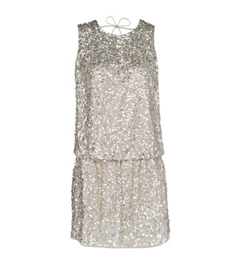 Mango  Mango Open Back Sequined Dress