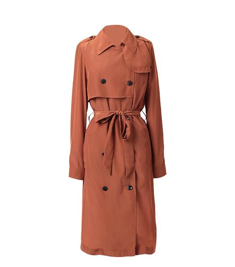 Ruche Endless Possibilities Trench Coat ($50)