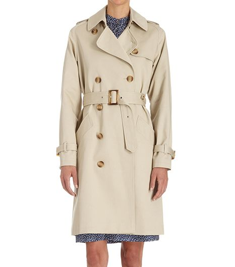 A.P.C. Double-Breasted Trench Coat