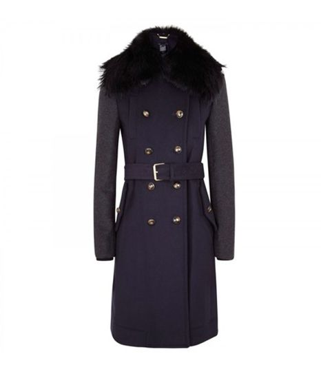 Marc By Marc Jacobs Nicoletta Colorblock Felt Coat