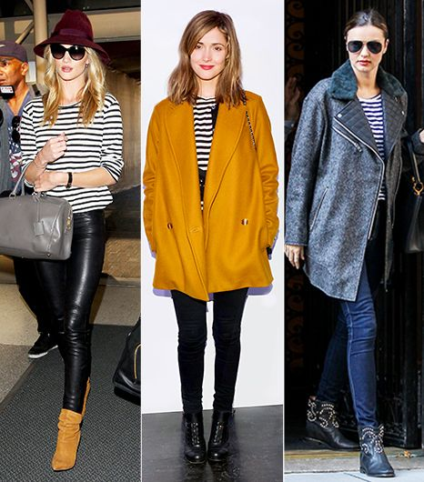 How To Wear Striped Shirts For Fall