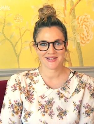 Drew Barrymore's Makeup Trick for Girls Who Wear Glasses