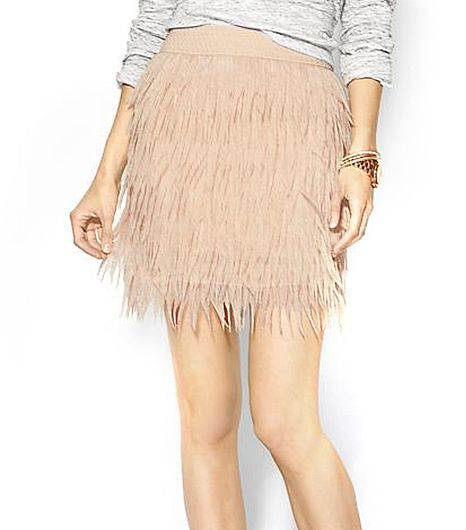 Sabine Press Sabine Chiffon Feather Skirt