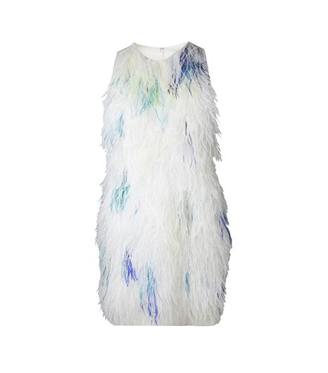 3.1 Phillip Lim 3.1 Phillip Lim Feather Front Shift Dress
