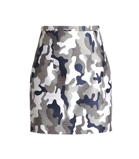 Equally chic with a sweater or a blazer.  