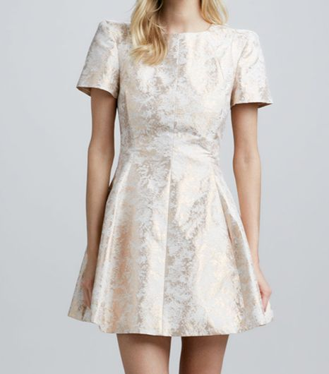 Cameo  Star of Wonder Jacquard Dress