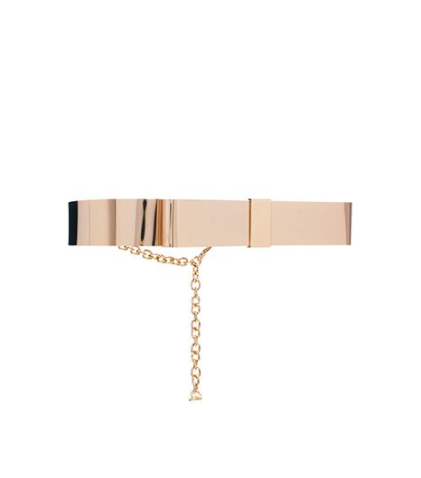 Asos  Full Metal Bow Waist Belt