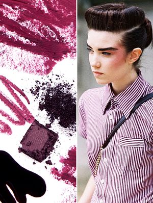 Get Creative With Deep, Dark Reds This Season--They're Not Just for Nails!