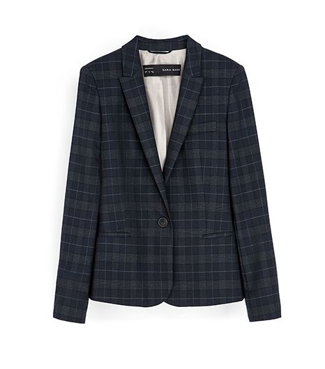 Zara  Zara Checked Blazer