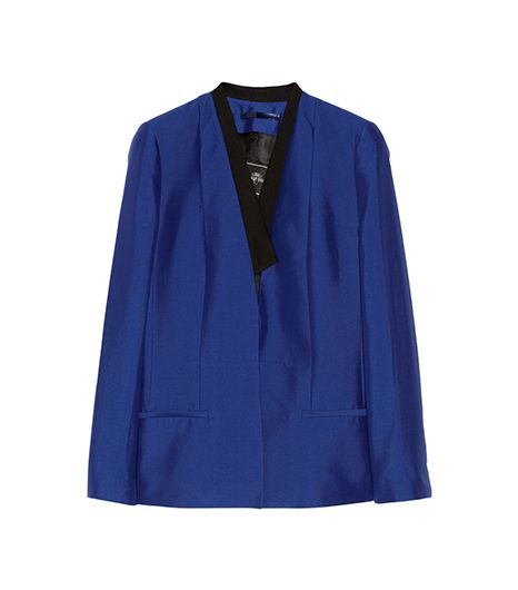 By Malene Birger  By Malene Birger Taylan Silk and Cotton-Blend Blazer