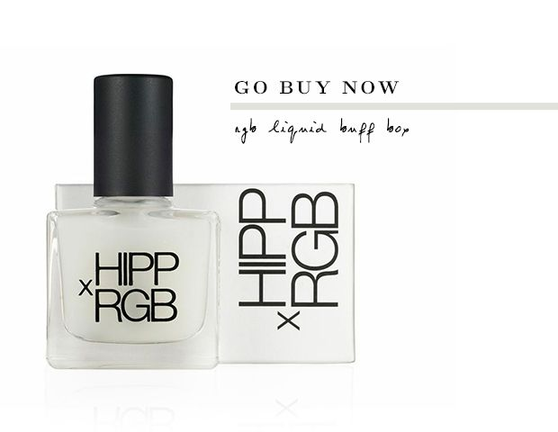 Go Buy Now: HIPP x RGB Liquid Buff