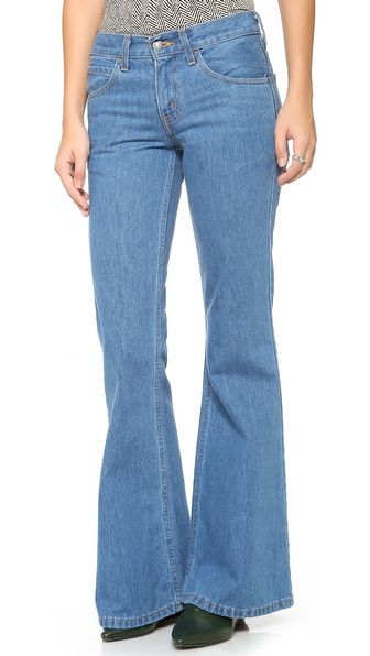 Levi's Vintage Clothing  Orange Tab 1970s 684 Bell Bottom Jeans