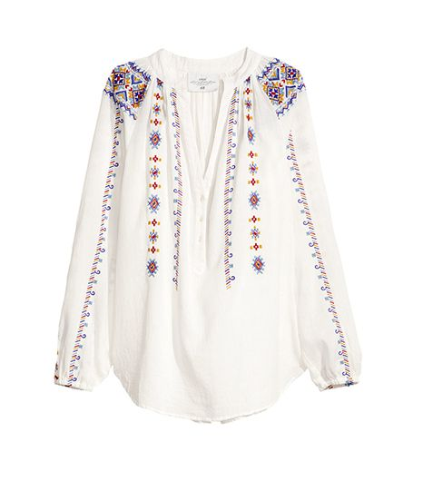 H&M  Cotton Blouse