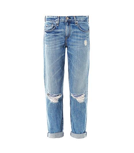 Rag & Bone  Moss Mid-Rise Boyfriend Jeans