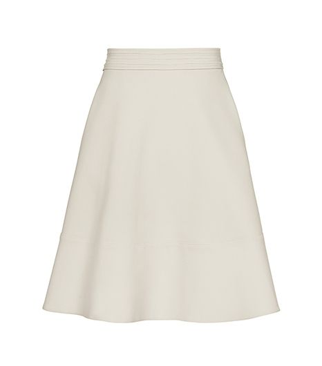Reiss Waistband Detail Flared Skirt