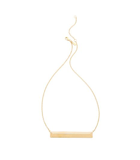 Elizabeth and James  Metroplis Pyramid Bar Necklace