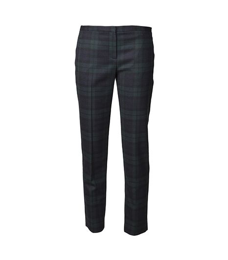 Theory  Fia Plaid Trouser