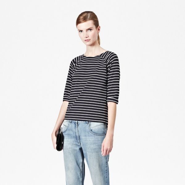 French Connection  Tim Tim Striped Raglan T-Shirt