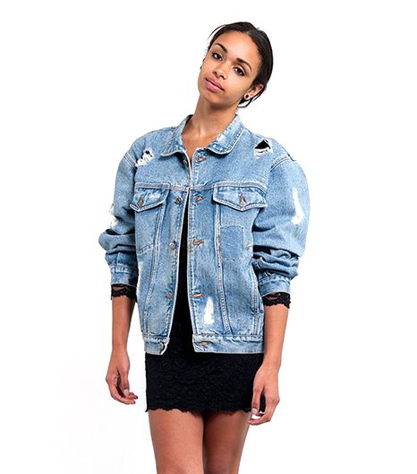 Denim Refinery  The Abrade Me Denim Jacket