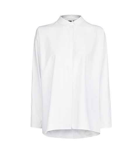 Mango  Boxy Cotton Shirt
