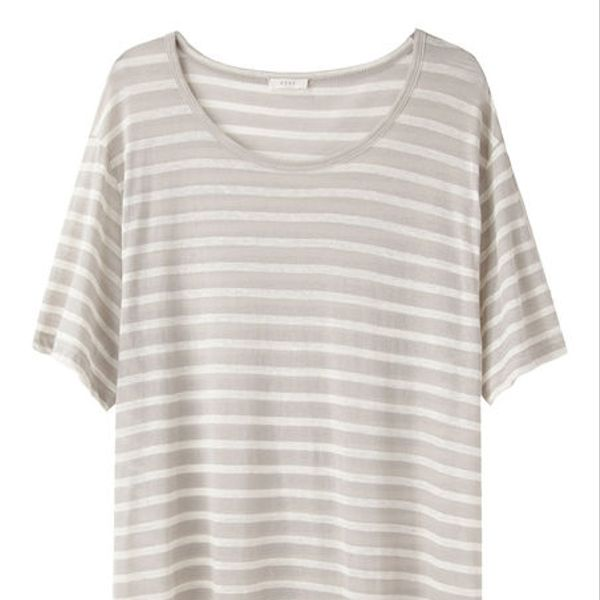 6397  Striped Boring T
