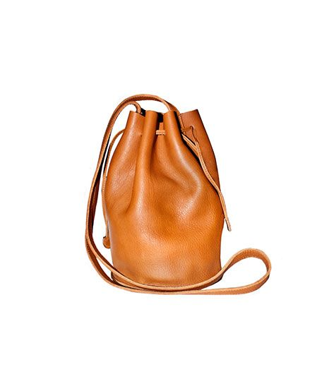 Cynthia Rowley Cynthia Rowley Leather Drawstring Tote
