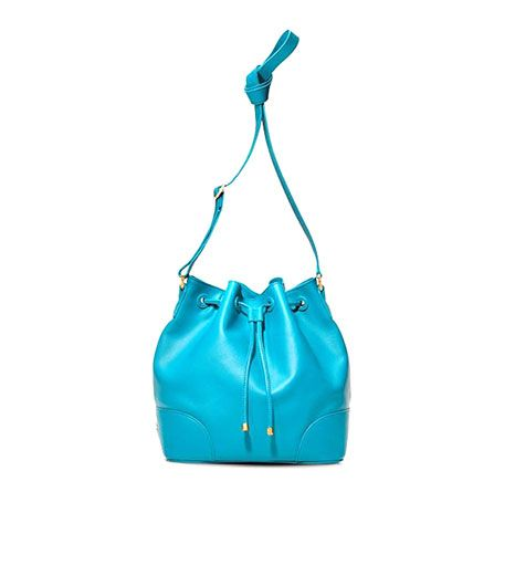 Tory Burch Tory Burch Robinson Drawstring Bucket Bag