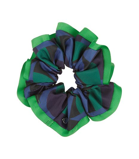 Marc By Marc Jacobs Marc By Marc Jacobs Etta Printed Twill Scrunchie