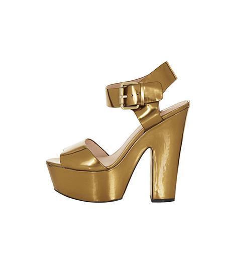 Topshop  Topshop Larna 2 Part Platform Sandals