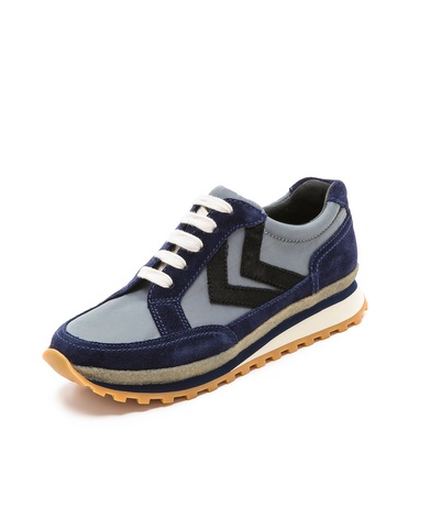 Marc By Marc Jacobs  Lace Up Sneakers