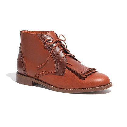 Madewell  The Aberdeen Two-Tone Boot