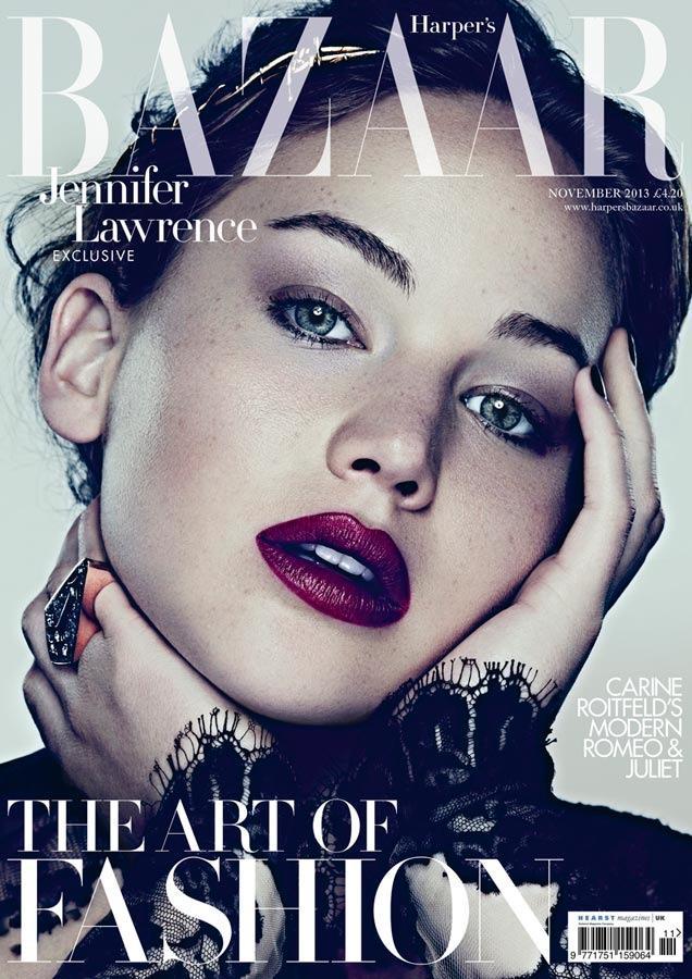 Jennifer Lawrence for Harper's Bazaar UK