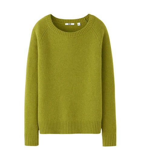 Uniqlo Alpaca Blend Crew Neck Sweater
