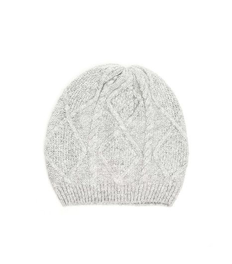 Need Supply Co.  Woodsmoke Cable Slouch Beanie