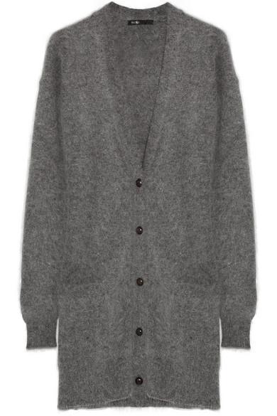 Maje  Discorde Oversized Knitted Cardigan