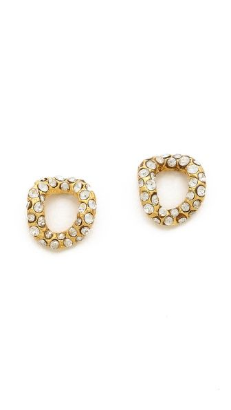 Alexis Bittar  Chain Link Stud Earrings